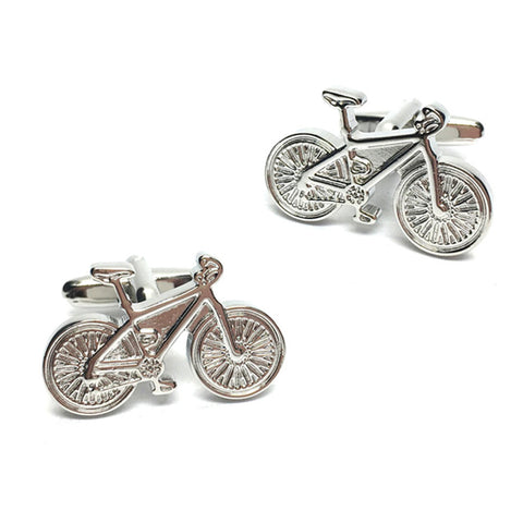 Modern Cyclist Bike Cufflinks