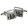 Ghetto Blaster Radio Cufflinks