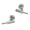 Cricket Bat & Ball Chain Cufflinks