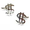 Dollar Sign Money Cufflinks