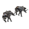 Pewter Elephant Cufflinks