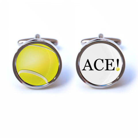 Tennis Ace Cufflinks
