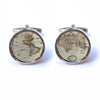 Ancient Map Cufflinks
