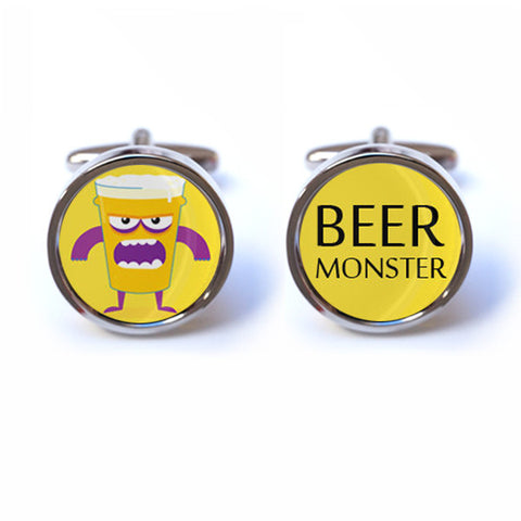 Beer Monster Cufflinks