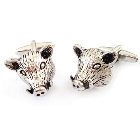Boars Head Cufflinks