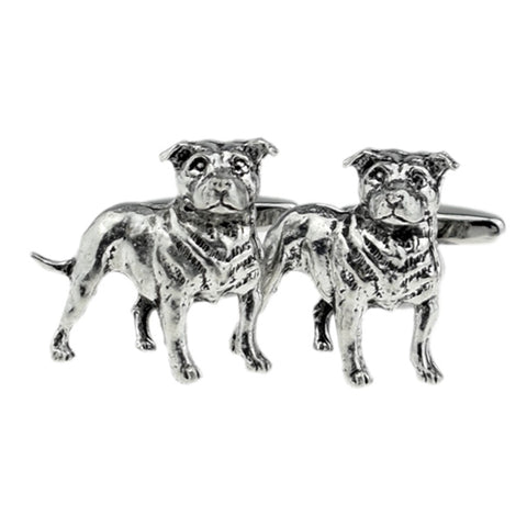 Staffordshire Bull Terrier Dog Cufflinks