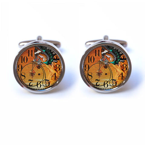Butterfly Steampunk Cufflinks