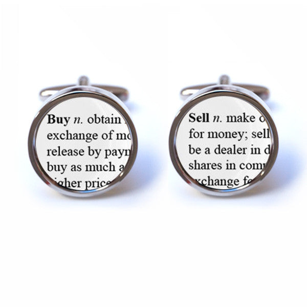 Buy Definition: Sell Word Definition Cufflinks