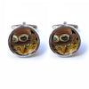 Cat Cufflinks - Steampunk Cufflinks