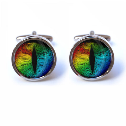 Cat Eyes Cufflinks