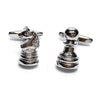 Pawn and Knight Chess Cufflinks