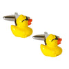 Cool Yellow Rubber Duck Cufflinks