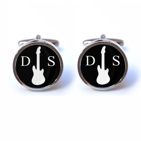 Personalised Guitar Cufflinks