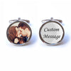 Photo and Text Cufflinks