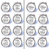 Personalised Wedding Cufflinks - Different Wedding Roles Available