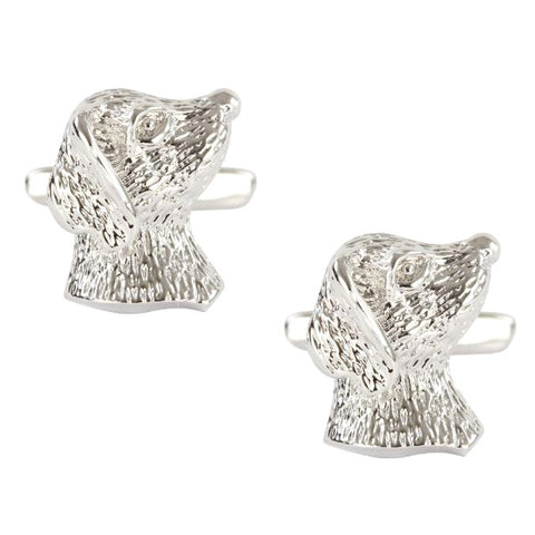 Dog's Head Cufflinks