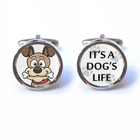 It's a Dog's Life Cufflinks