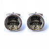 Dog Cufflinks - Steampunk Dog Cufflinks