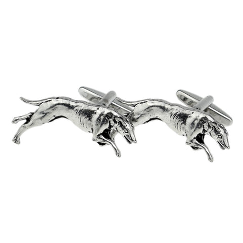 Greyhound Dog Cufflinks