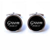 Custom Groom Cufflinks