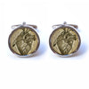 Vintage Style Anatomical Heart Cufflinks