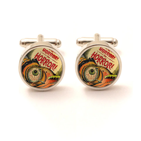 The Horror, The Horror Cufflinks