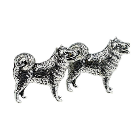 Husky Dog Cufflinks