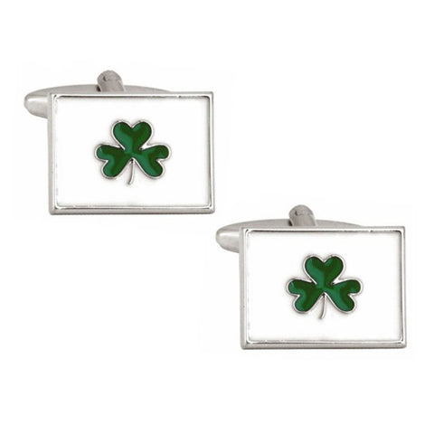 Irish Shamrock Cufflinks