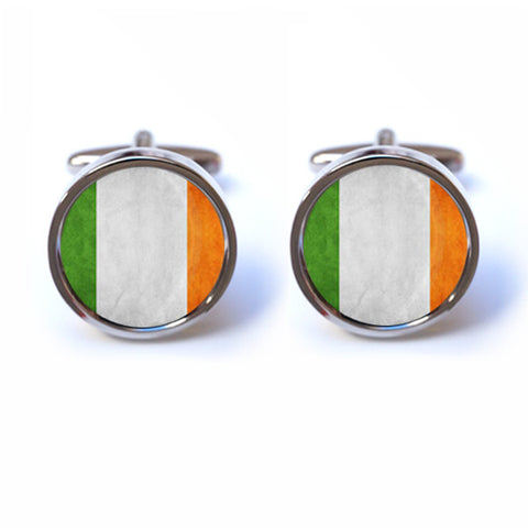 Irish Flag Cufflinks