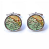 Vintage Los Angeles Map Cufflinks