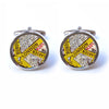 London Street Map Cufflinks