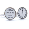 Personalised Meet me at the Altar Cufflinks