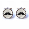 Novelty Moustache Cufflinks