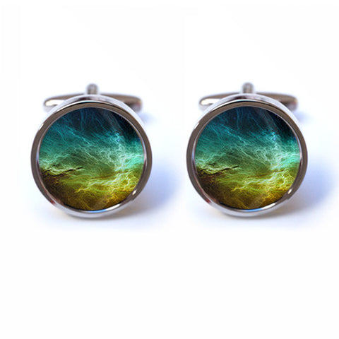 Nebula Space Cufflinks
