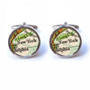 Vintage New York Map Cufflinks