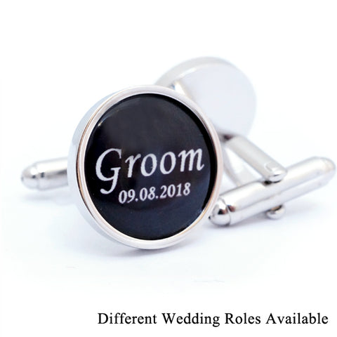 Personalised Wedding Party Cufflinks