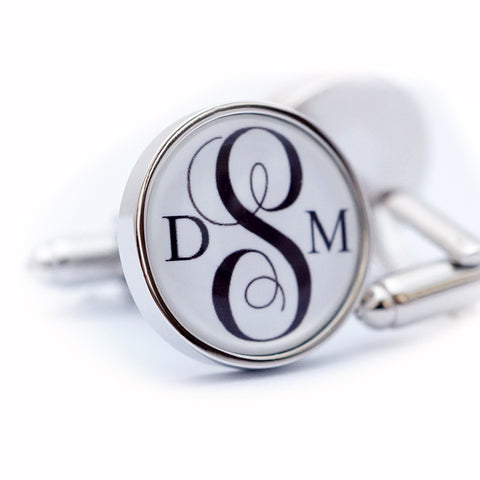Personalised Monogram Initial Cufflinks
