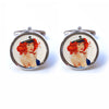 Pin-Up Sailor Girl Cufflinks