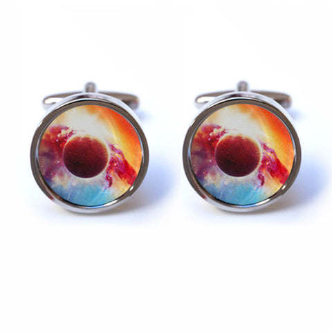 Space Nebula Cufflinks