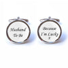 Husband to Be Cufflinks