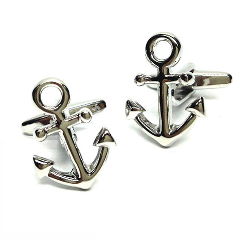 Classic Anchor Sailing Cufflinks