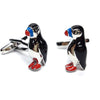 Puffin Bird Cufflinks