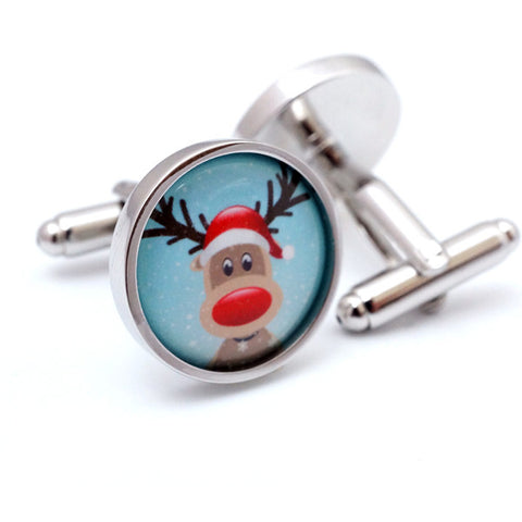 Rudolf the Reindeer Cufflinks