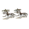 Running Fox Cufflinks