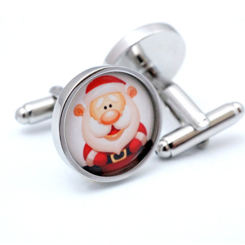 Novelty Santa Claus Cufflinks