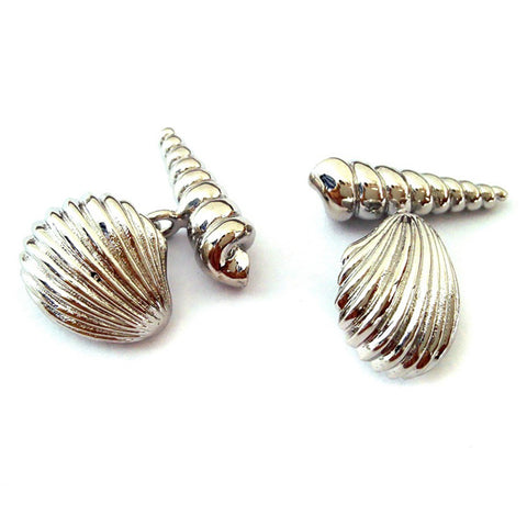 Seashell Cufflinks