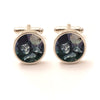 Ghostly Skeleton Halloween Cufflinks
