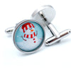 Novelty Snowman Cufflinks