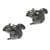 Pewter Squirrel Cufflinks