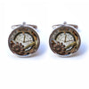 Steampunk Clock Cufflinks